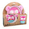 Picture of Bamboo 5 pce Meal Set - Owl